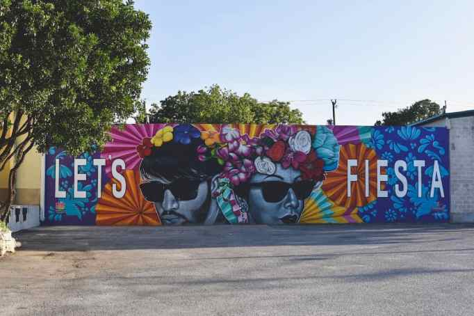 Lets Fiesta Mural in San Antonio
