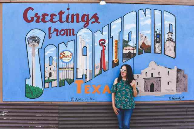 Greetings from San Antonio Mural