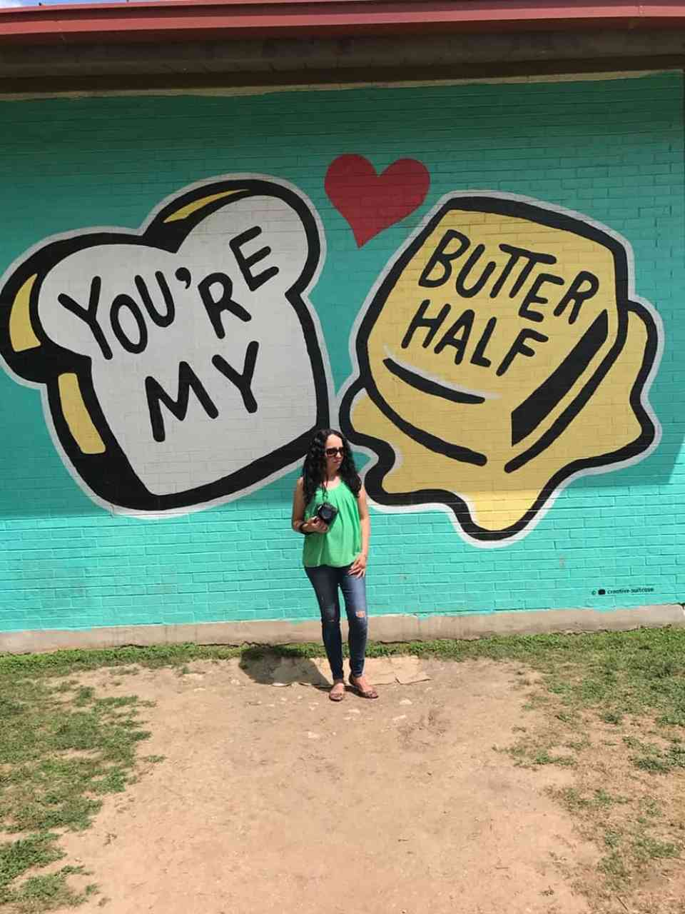 you are my butter half mural most instagrammable murals in austin