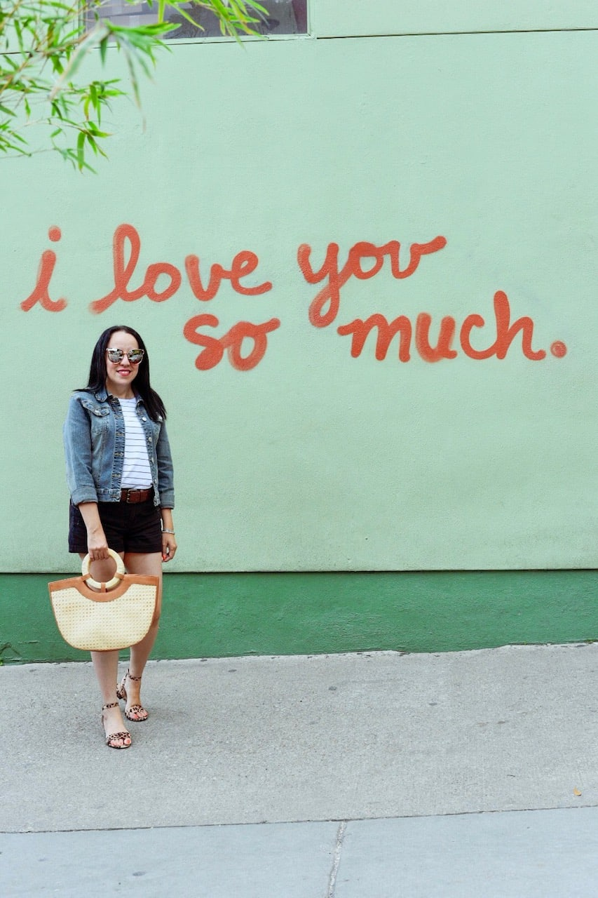 I love you so much mural austin