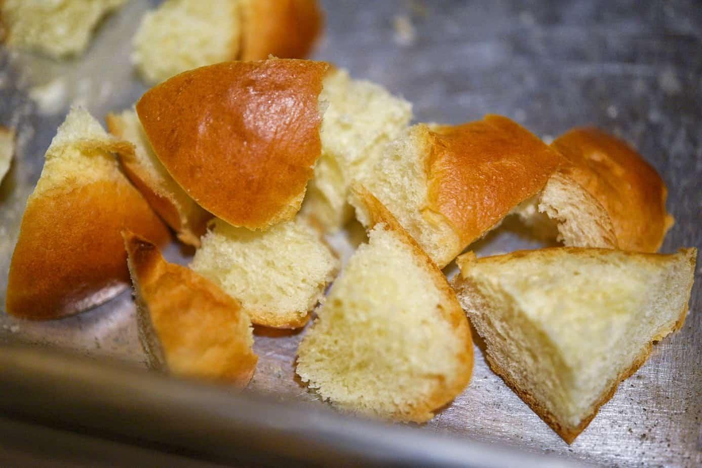 Easy Challah Mascarpone Blueberry French Toast Casserole