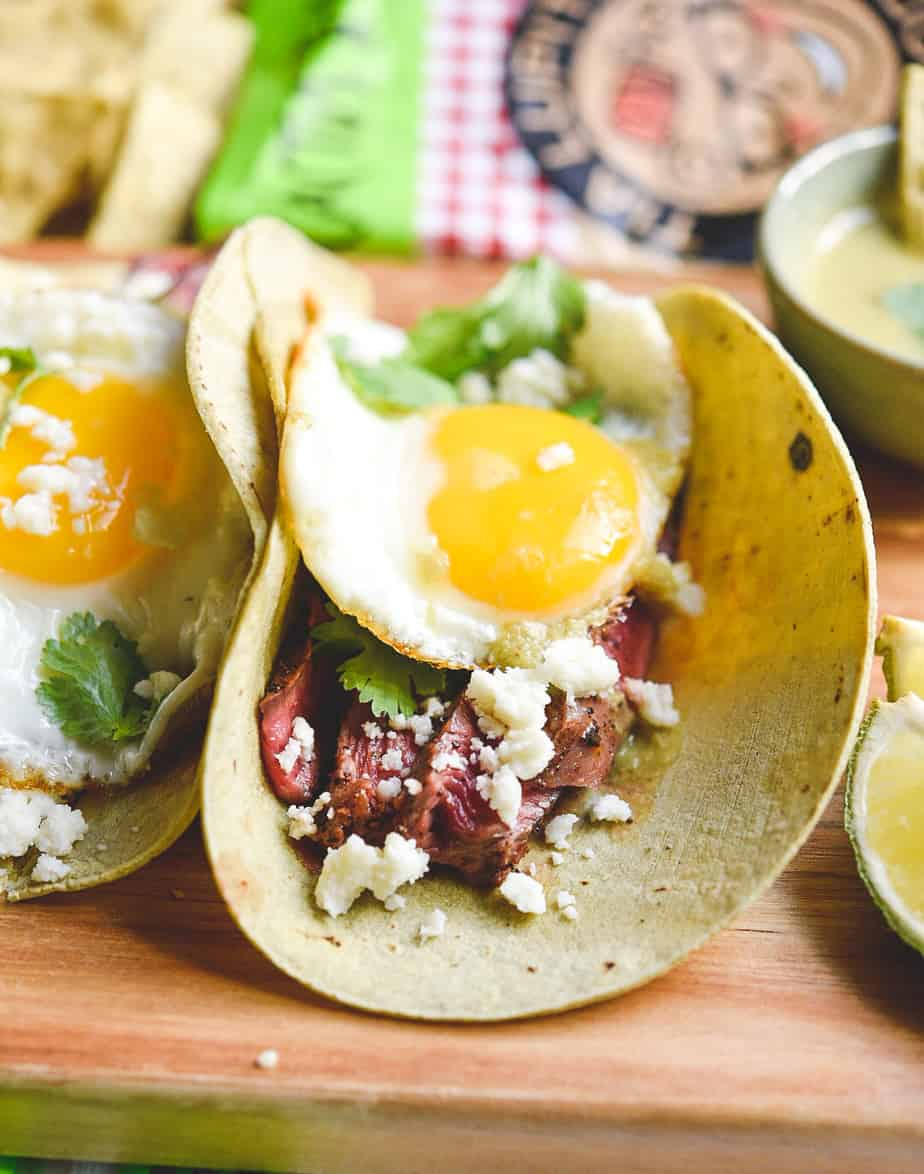 Keto Steak and Eggs Tacos – Low Carb Tacos