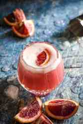 Blood Orange Vodka Sour