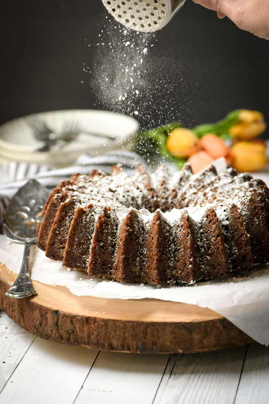 Easy Carrot Cake with Brandy