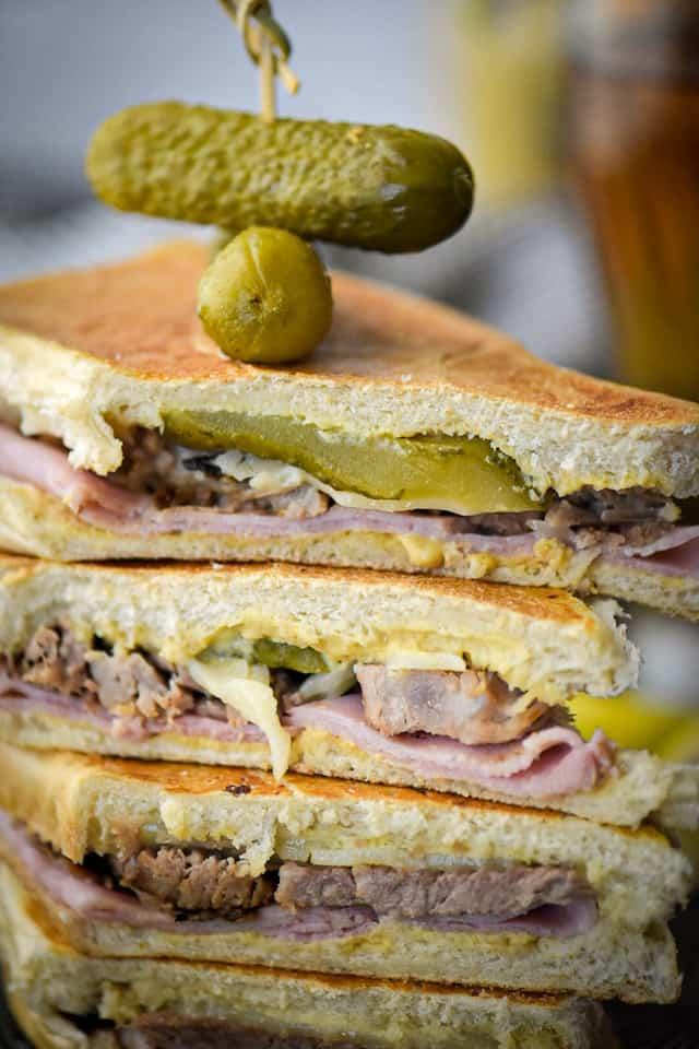 Cuban Sandwich with Mojo Roasted Pork Shoulder
