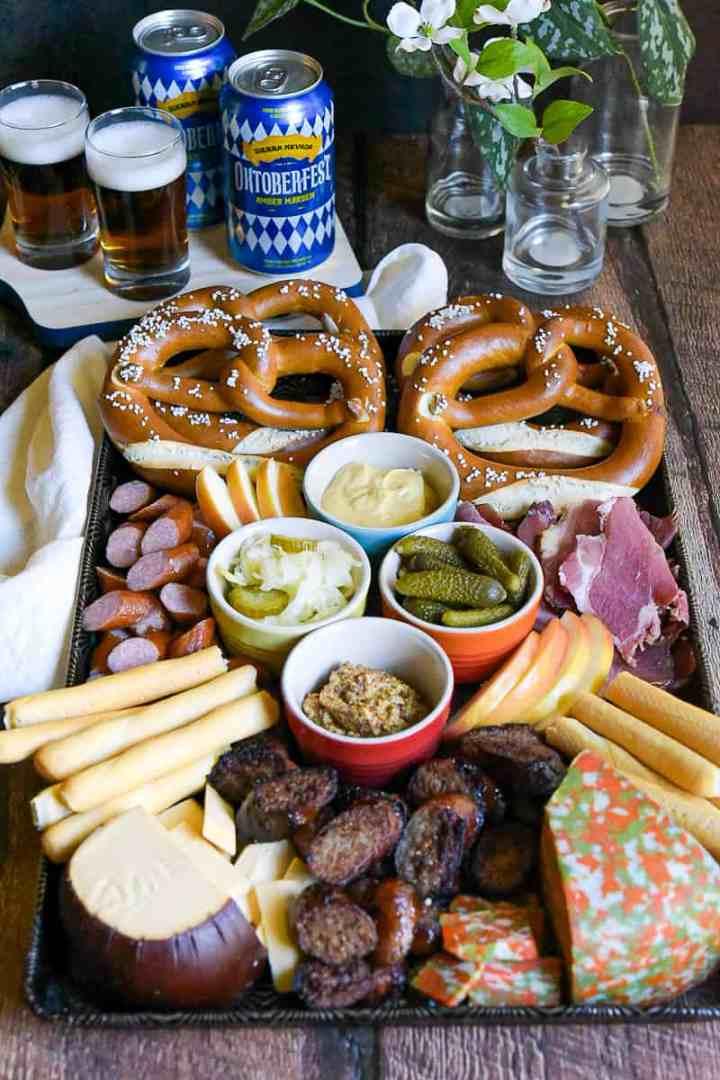 Octoberfest Snack Board hungrytravelingmama