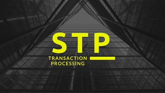 STP transaction processing
