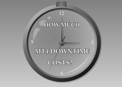 How much MT4 downtime costs