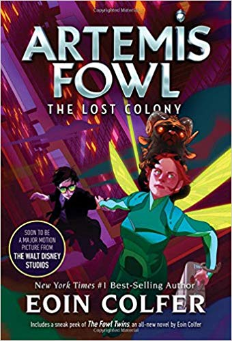 The Lost Colony- Artemis Fowl, Book 5