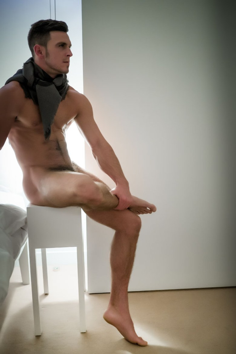 Handsome Paddy O'Brian naked