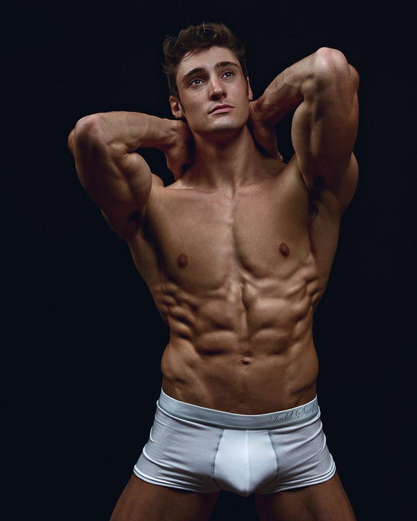 Matt Holdener cock bulge