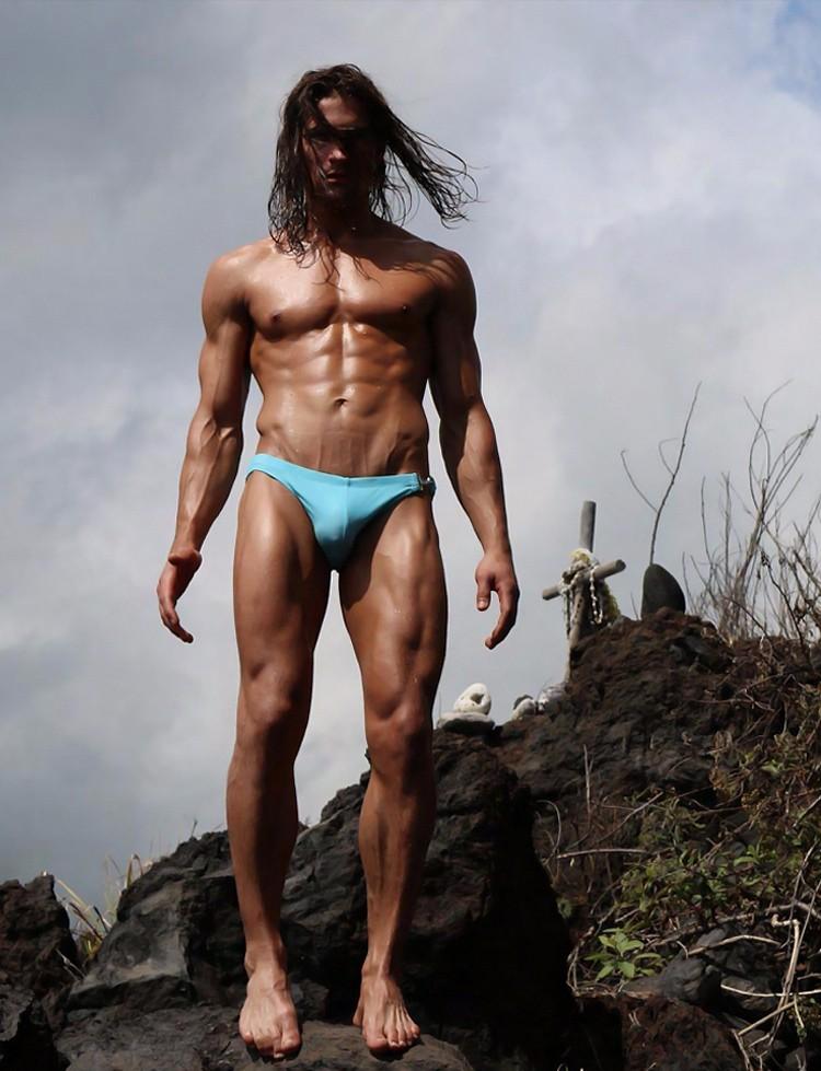 Male model Logan Swiecki-Taylor for Rufhouse Magazine