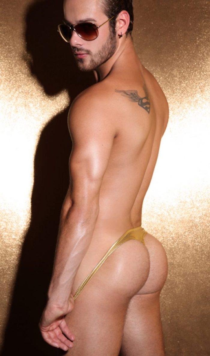 Quinn Jaxon showing his smooth bubble butt