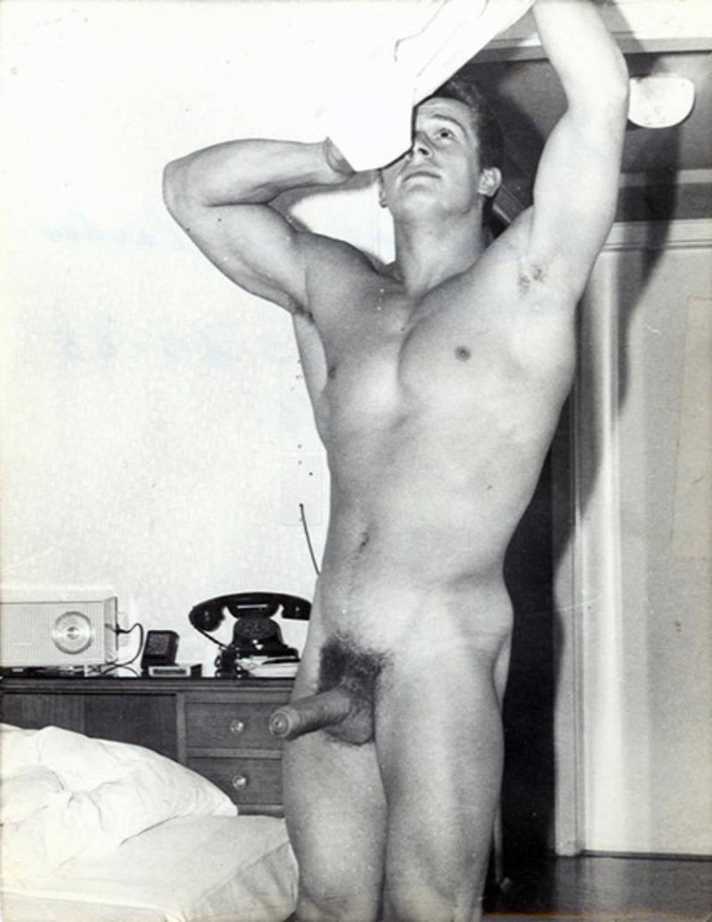 Helmut Riedmeier naked and hard