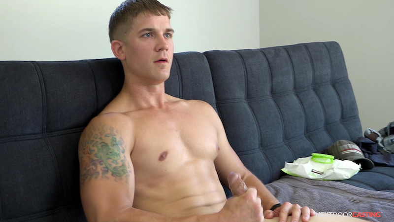 Click to watch Brandon Anderson jacking off at Next Door Casting