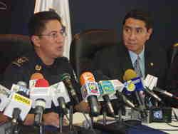 Ricardo Meneses con René Figueroa