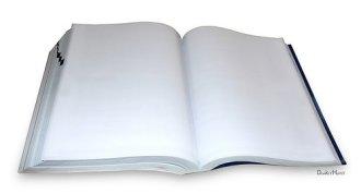 blank book photo