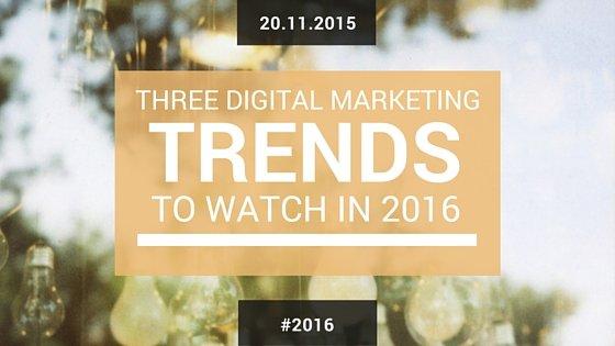 The Three Digital Marketing Objectives