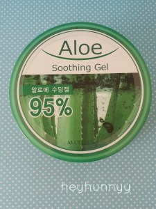 missha aloe soothing gel