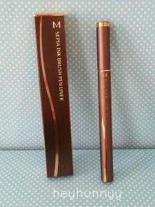 Missha Sepia Ink Brush Pen Liner