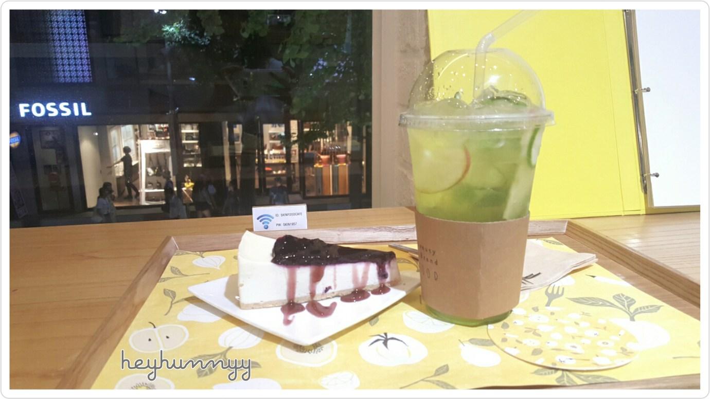 ::KOREA:: SkinFood Cafe in Gangnam! Heyhunnyy