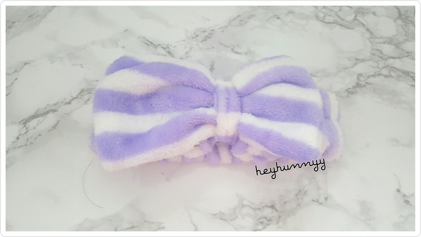 ::CUTE:: Headbands for your skincare routine! heyhunnyy korean headbands holika holika