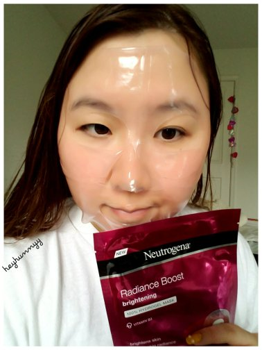 ::REVIEW:: The Neutrogena Hydrogel Mask Collection! heyhunnyy