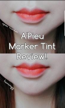 ::REVIEW:: Apieu Marker Pen Tint!