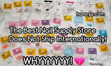 ::SAD NEWS:: The Best Korean Nail Supply Store Does Not Ship Worldwide