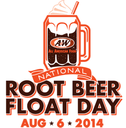 Root Beer Float Day 2014 FREE A&W Root Beer Float on 8/6
