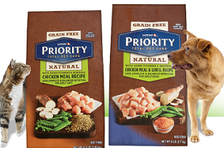 Priority Pet Natural Dog or Cat Food FREE Bag of Priority Pet Natural Dog or Cat Food at Safeway