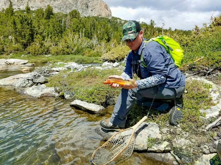 Golden Trout live in America's most beautiful and wild areas.