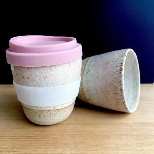Handmade ceramic Miami sunset keep cup hunter and the fox australia