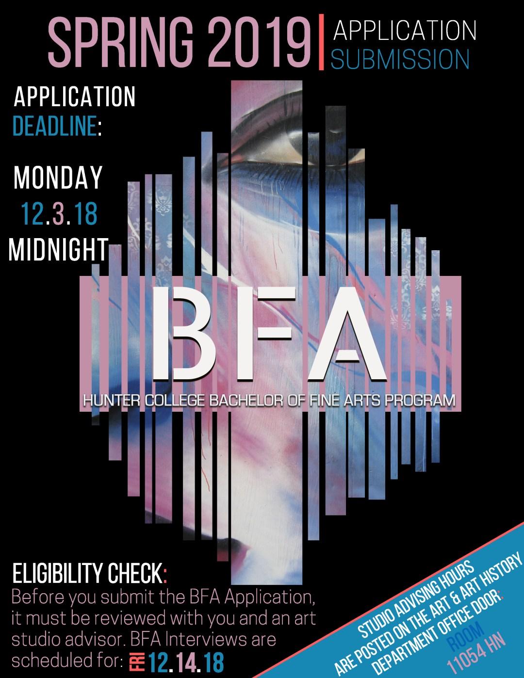 BFA Poster-Spring 2019