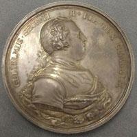 Medal depicting the Duke of Cumberland.
