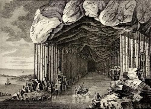 Figure 1 Fingal's cave (Pennant 1774, 263)