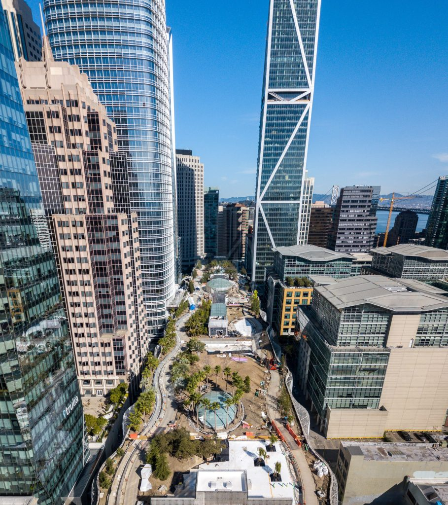 Salesforce Park by San Francisco Architectural Photographer Hunter Kerhart