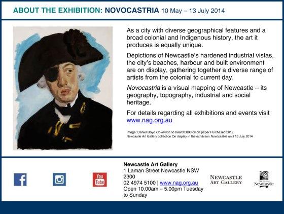 About the Novocastria Exhibition