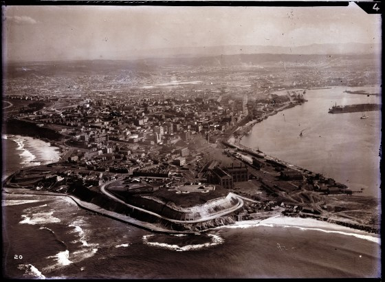 Newcastle aerial, 1935 (Image 70 Courtesy of Phillip Warren)