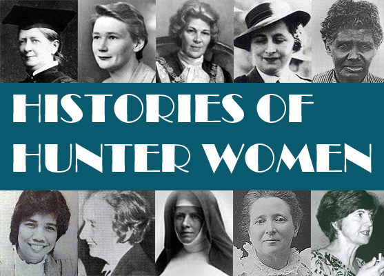 Women's Histories Hunter Banner
