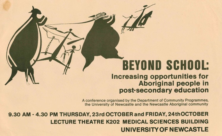1986 1023-24 beyond school conference poster