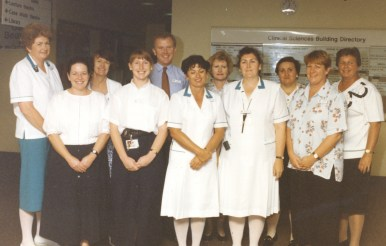 Unidentified Nursing Staff. 1980s