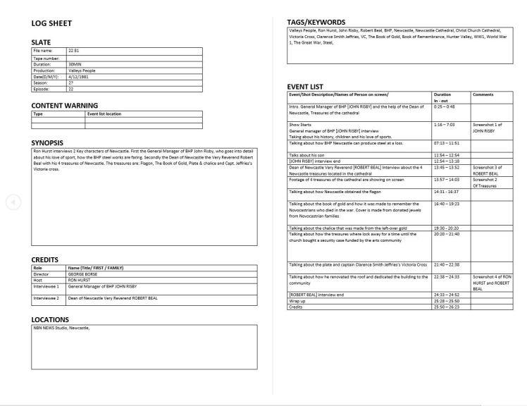 Archive AV TEMP example SC1