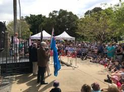 Lord Mayor Nuatali Nelmes City of Newcastle at Capturing Time Event in Lambton 20 October 2018 (Photo: G Di Gravio)