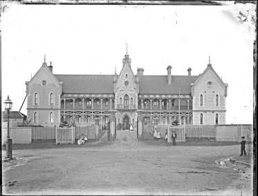 Newcastle Hospital, Newcastle East, NSW, November 1892