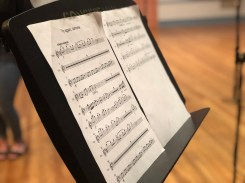 Musical Score for the Victoria Theatre 3D Reconstruction Project