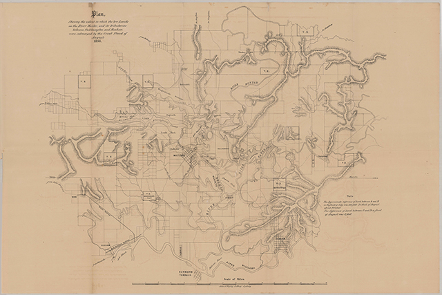 Map - Lower Hunter 1857