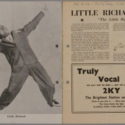 1957 Australian Tour Booklet (Little Richard) (Courtesy of Museum of Applied Arts & Sciences: https://collection.maas.museum/object/164523)