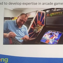 Dr Jon-Paul Dyson , Dir. of the International Centre for the History of Electronic Games games (ICHEG)