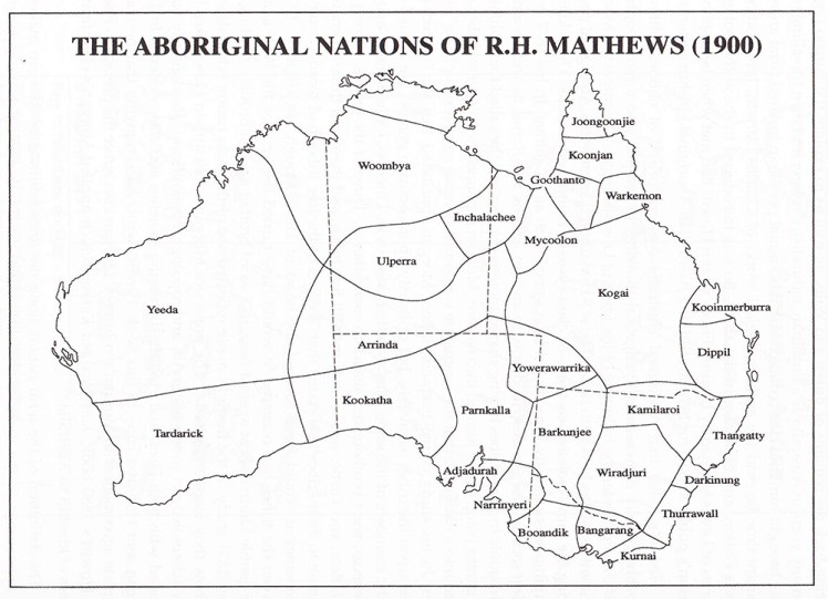 YNVRJA9-The Aboriginal Nations of R.H. Mathews 1900 (schematic version of map)
